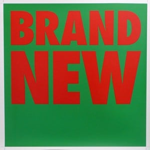 BRAND NEW by Billy Apple contemporary artwork
