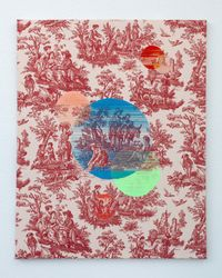 Inner strength (spheres of influence) by Suchitra Mattai contemporary artwork textile