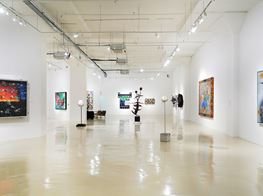 """Ashley Bickerton<br><em>Heresy or Codswallop</em><br><span class=""""oc-gallery"""">Gajah Gallery</span>"""