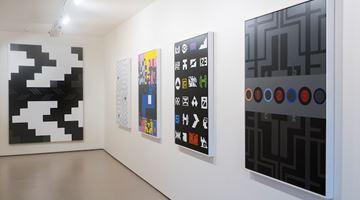 Contemporary art exhibition, Kelcy Taratoa, The Grey Space Te Kore-te wiwia at Bartley & Company Art, Wellington