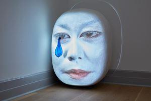 FuzzyU by Tony Oursler contemporary artwork
