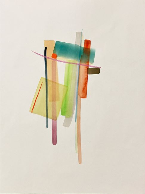 Indigo mood by Henrik Eiben contemporary artwork