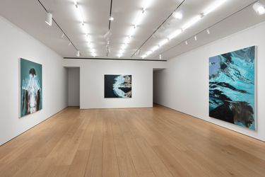Exhibition view: Calida Rawles, On the Other Side of Everything, Lehmann Maupin, 501 West 24th Street, New York (9 September–23 October 2021). Courtesy the artist and Lehmann Maupin, New York, Hong Kong, Seoul, and London.Photo: Daniel Kukla.