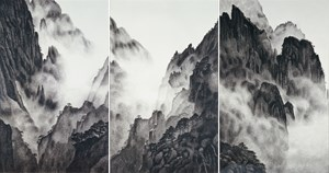 Mount Huangshan 黃山 by HAN Hsiang-ning contemporary artwork