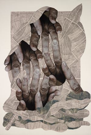 Need for help by Kalliopi Lemos contemporary artwork works on paper, photography, print