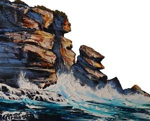 Hat Head Rock by Neil Frazer contemporary artwork