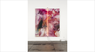Contemporary art exhibition, Mary Weatherford, One-on-One at David Kordansky Gallery, Online Only, USA