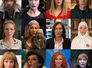 A chameleonic Cate Blanchett materializes in Julian Rosefeldt's 'Manifesto' at Hauser & Wirth gallery