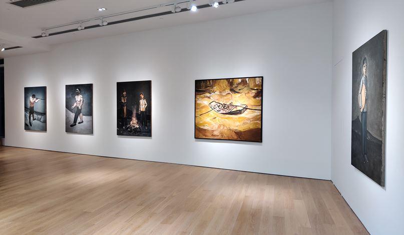 Exhibition view: Duan Zhengqu, Mahuangliang, Tang Contemporary Art, Hong Kong(6 October–21 November 2020). Courtesy Tang Contemporary Art.