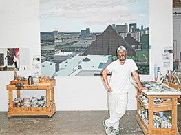 ARTIST JONAS WOOD HAS BROAD APPEAL