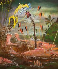 The Story of King Bananus by Jakub Julian Ziolkowski contemporary artwork mixed media