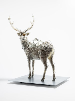 PixCell-Deer#44 by Kohei Nawa contemporary artwork mixed media