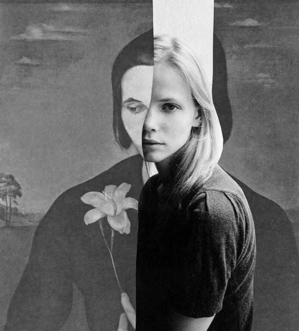 Flower of yesterday by Miriam Tölke contemporary artwork