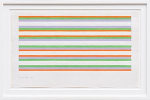 Untitled by Bridget Riley contemporary artwork