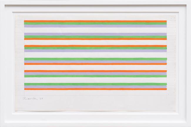 Untitled by Bridget Riley contemporary artwork
