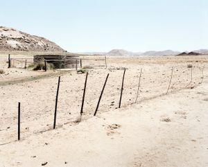Overflow at Hytkoras, Namaqualand, 30 December 2003 by David Goldblatt contemporary artwork