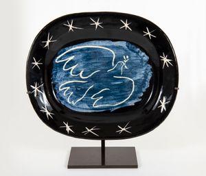 Bright dove by Pablo Picasso contemporary artwork