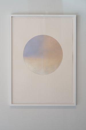 Gekkou (Moonlight) November 3 by Miya Ando contemporary artwork