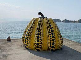Yayoi Kusama's Naoshima Pumpkin Swept Away by Typhoon
