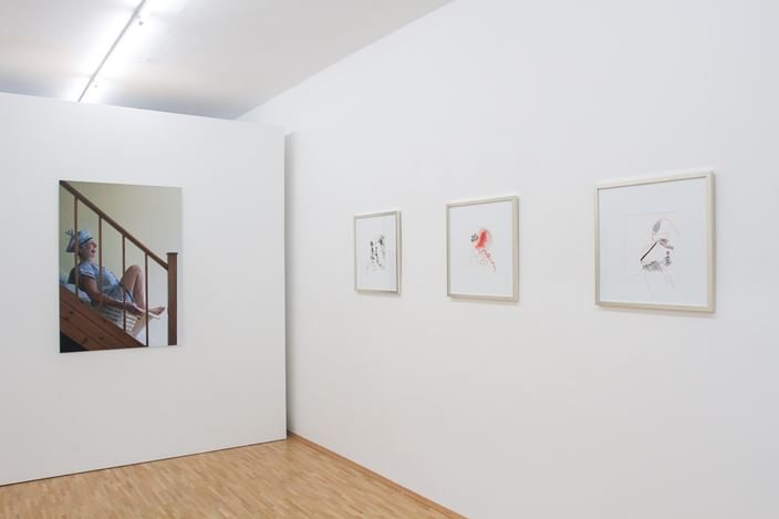 Exhibition view: Group Exhibition, Body \ Politic,Susan Boutwell Gallery, Munich (4 August–5 September). Courtesy Susan Boutwell Gallery.