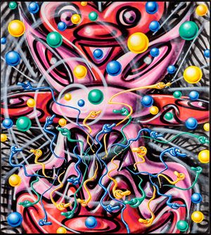 Han by Kenny Scharf contemporary artwork