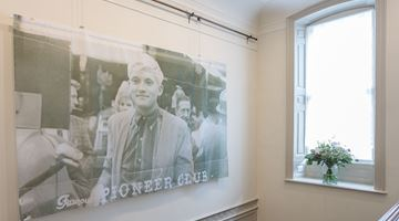 Contemporary art exhibition, David Hockney, Early Drawings at Offer Waterman, London