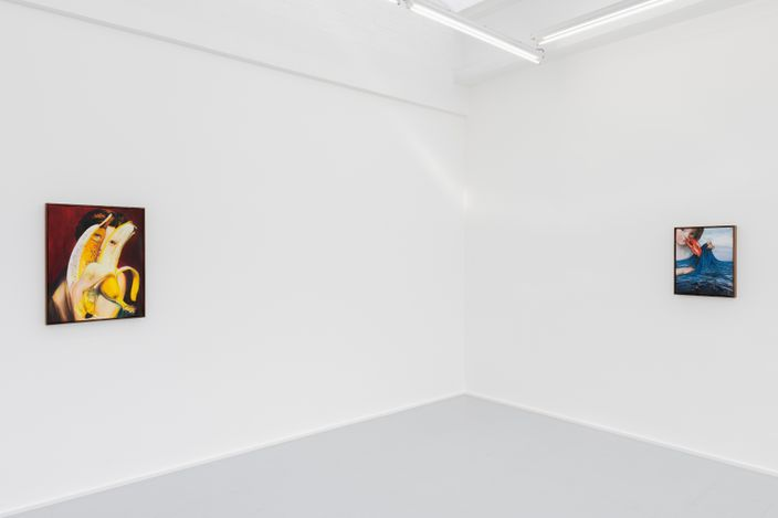 Exhibition view: Thomas Leeroy,If you feel more than butterflies in your stomach, rodolphe janssen, Brussels (9 September–16 October 2021). Courtesy the artist and rodolphe janssen, Brussels. Photo  HV photography.