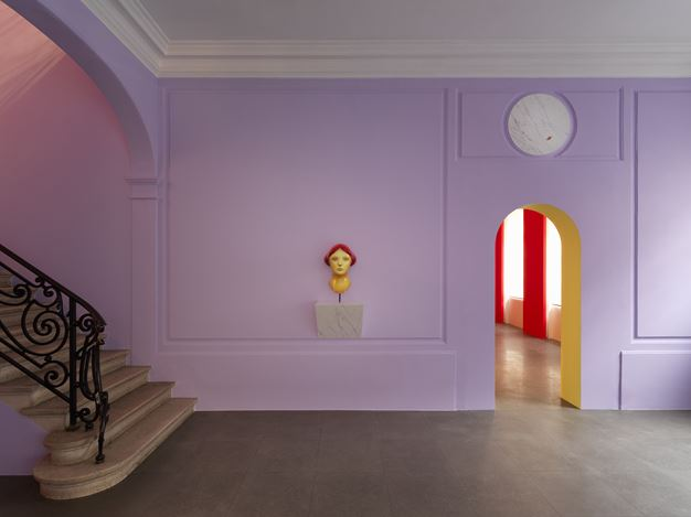 Exhibition view: Nicolas Party, Grotto, Xavier Hufkens, 6 rue St-Georges, Brussels (15 November–14 December 2019). Courtesy the Artist and Xavier Hufkens, Brussels. Photo: Allard Bovenberg.