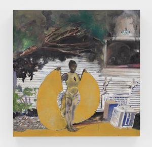 Isis by Noah Davis contemporary artwork