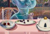 Celestial diners I by Ndidi Emefiele contemporary artwork 3