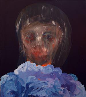 Blind Girl by David Lehmann contemporary artwork