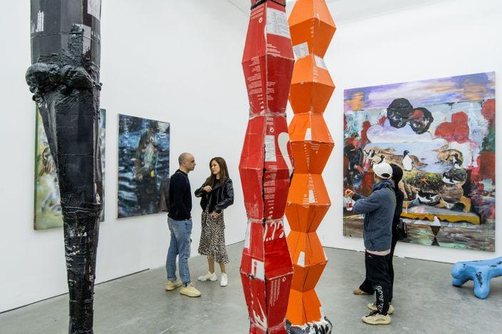 Exhibition view: Yilun Zhou, Superstition, Blessing, Modernism, Cc Foundation & Art Centre, Shanghai (7 November 2020–1 March 2021). Courtesy Beijing Commune, Beijing.