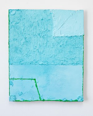 Untitled (Aqua) by Louise Gresswell contemporary artwork