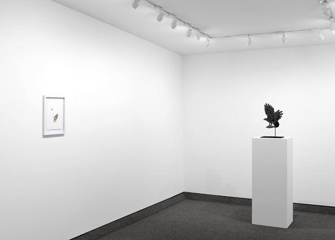Exhibition view: Kiki Smith, Krakow Witkin Gallery, Boston (8 October–11 November 2020). Courtesy Krakow Witkin Gallery.
