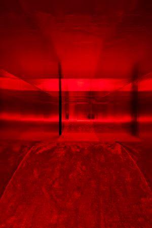 """Lucio Fontana in collaboration with Nanda VigoAmbiente spaziale: """"Utopie"""", nella XIII Triennale diMilano [Spatial Environment: """"Utopias"""", at the 13th MilanTriennale] by Lucio Fontana contemporary artwork sculpture, installation"""