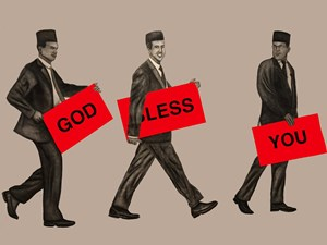 God *less You by Engku Iman contemporary artwork