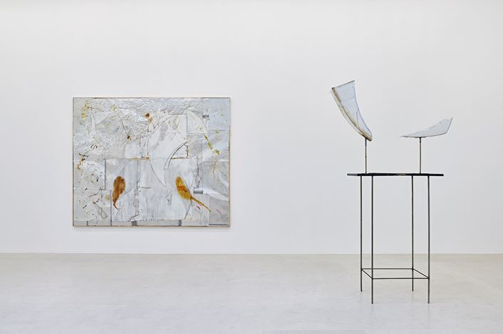 Exhibition view: Rudolf Polanszky, Gagosian, Paris (16 January–20 March 2021). Artwork: © Rudolf Polanszky. Courtesy Gagosian. Photo: Thomas Lannes.