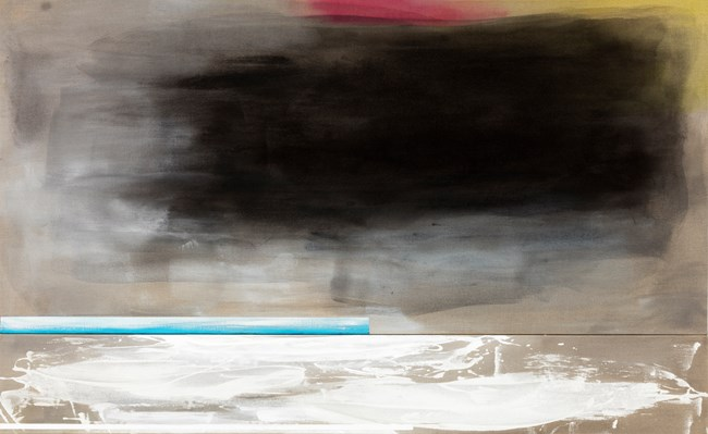 Sketch (Black cloud) by Gretchen Albrecht contemporary artwork