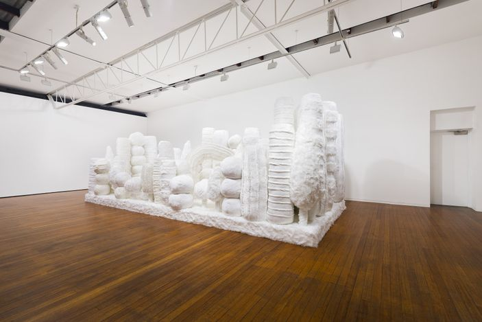 installation view, Kathy Temin:Mothering Gardens, Roslyn Oxley9 Gallery, Sydney (12 May – 12 June 2021). photo: Luis Power