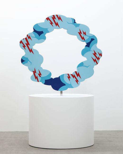 Descending Sculpture by Noritaka Tatehana contemporary artwork