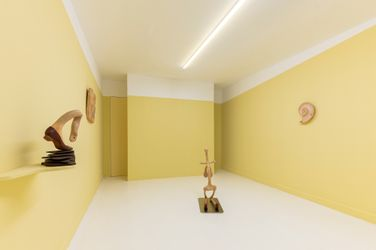 Exhibition view: Liao Wen, Almost Collapsing Balance,Capsule Shanghai, Shanghai (11 September–23 October 2021).CourtesyCapsule Shanghai.