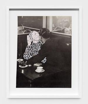 Women Words (Brassaï #4) by Betty Tompkins contemporary artwork