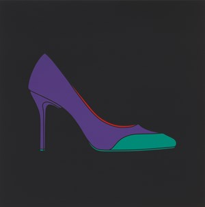 Untitled (high heel) by Michael Craig-Martin contemporary artwork