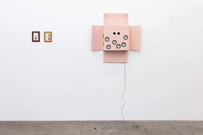 Exhibition view: Book Launch, Richard Reddaway, it does no harm to wonder/the body of the work, Jonathan Smart Gallery, Christchurch (7 August–5 September 2020). Courtesy Jonathan Smart Gallery.