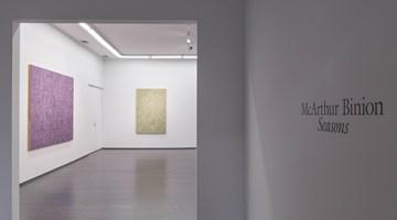 Contemporary art exhibition, McArthur Binion, Seasons at Kavi Gupta, Washington Blvd, Chicago, USA