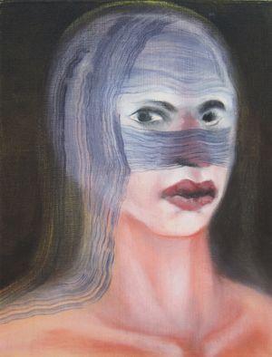 burkazorn by Miriam Cahn contemporary artwork painting