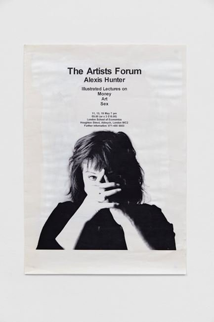 The Artist Forum. Illustrated Lectures on 'Money, Art, Sex' by Alexis Hunter by Alexis Hunter contemporary artwork