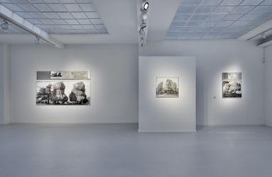 Exhibition view: Christo,Nature   Environments,Galerie Gmurzynska,Talstrasse 37,Zürich (11 September–20 November 2021). CourtesyGalerie Gmurzynska.