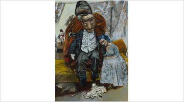 Contemporary art exhibition, Paula Rego, The Forgotten at Victoria Miro, Wharf Road, London