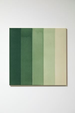 Green Water Colour by Simon Morris contemporary artwork